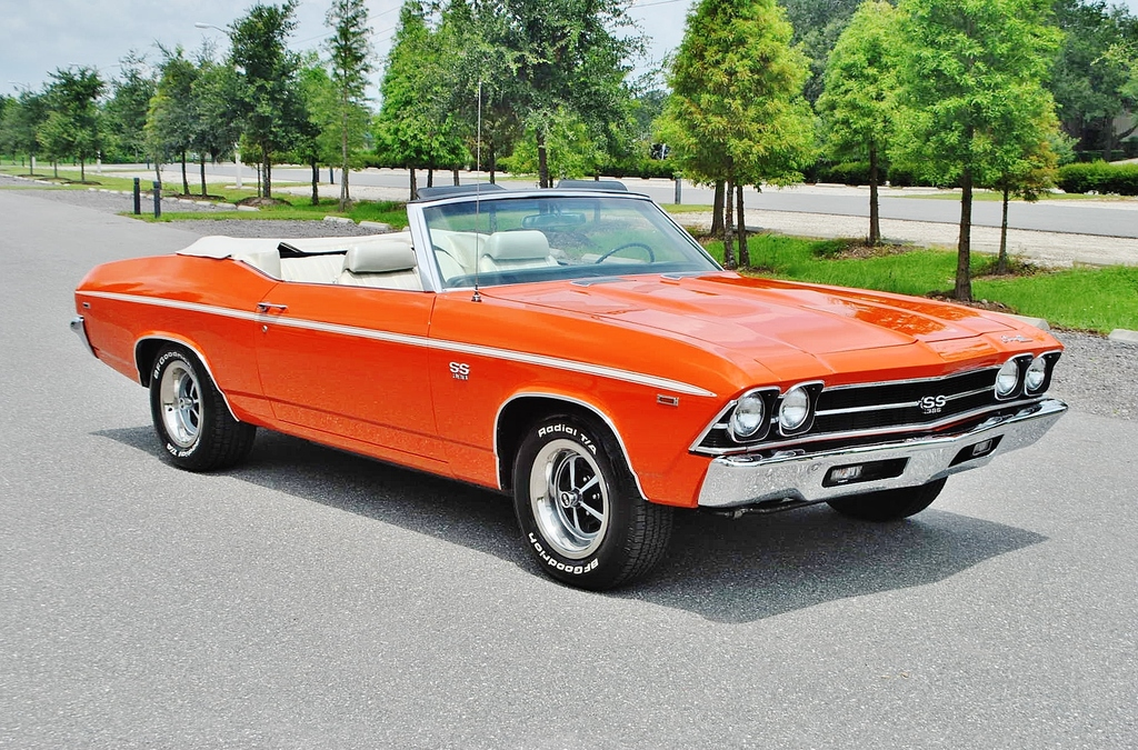 All American Classic Cars 1969 Chevrolet Chevelle Ss 2