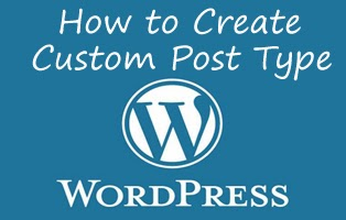 how to create custom post type in wordpress