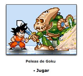 juego de goku de peleas