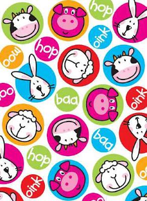 animales infantiles decoraciones para niños y niñas