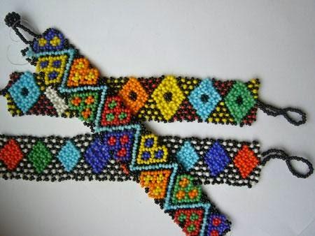 Монастырское плетение бисером