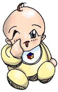 Foto Anak Bayi Kartun Lucu