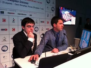 Maxime Vachier-Lagrave et Jean-Baptiste Mullon © Chess & Strategy