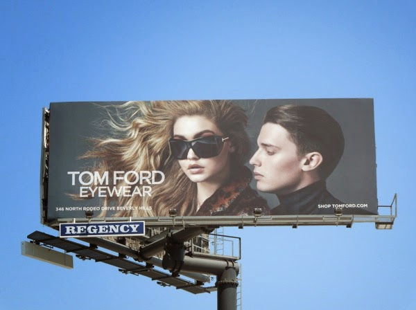 Tom Ford Eyewear August 2014 billboard