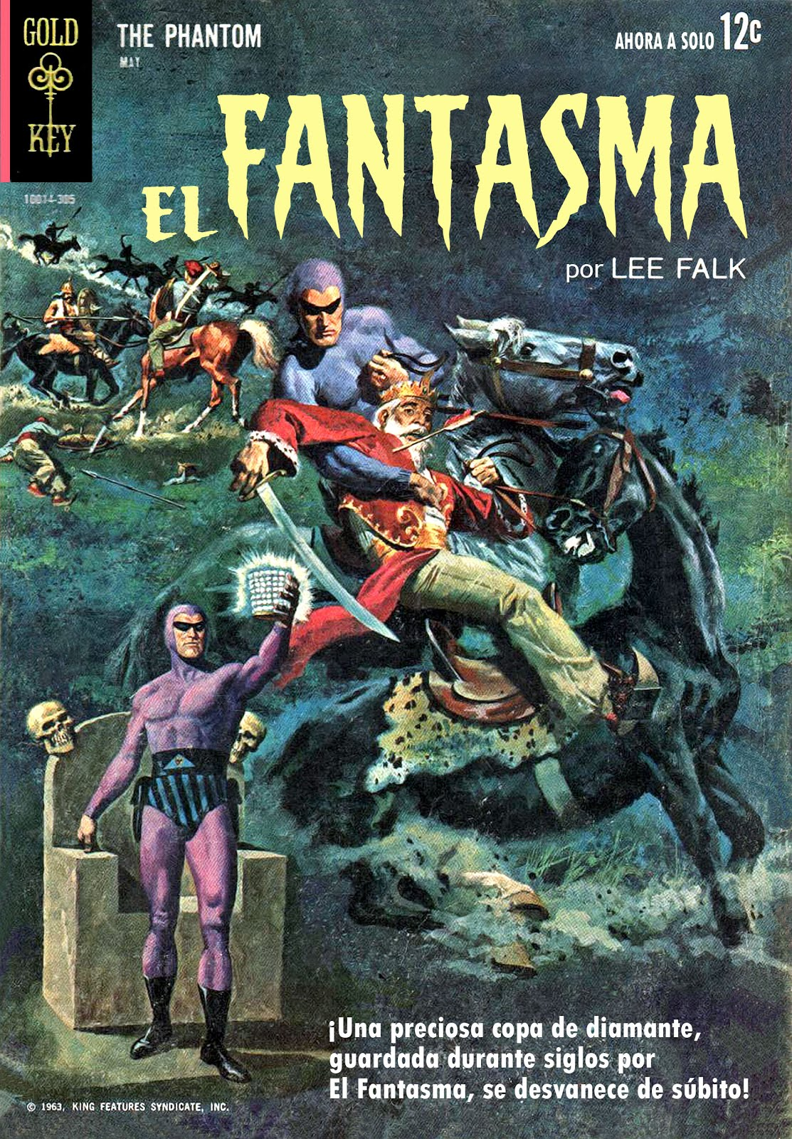 Todos los martes:The Phantom (1962 Gold Key / King / Charlton) [El Fantasma]