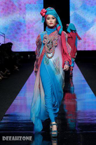 baju muslim rancangan designer indonesia inilah trend baju muslim 2012