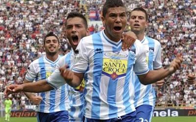 Primer ¡golazo! de Juan Quintero con el Pescara
