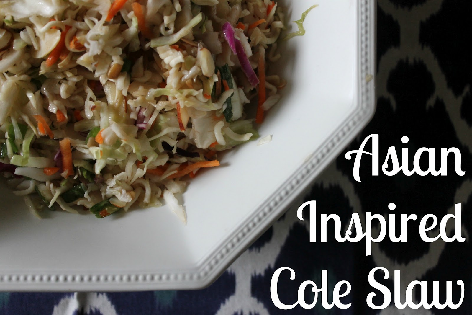 Wonderfully Made: Asian Inspired Cole Slaw