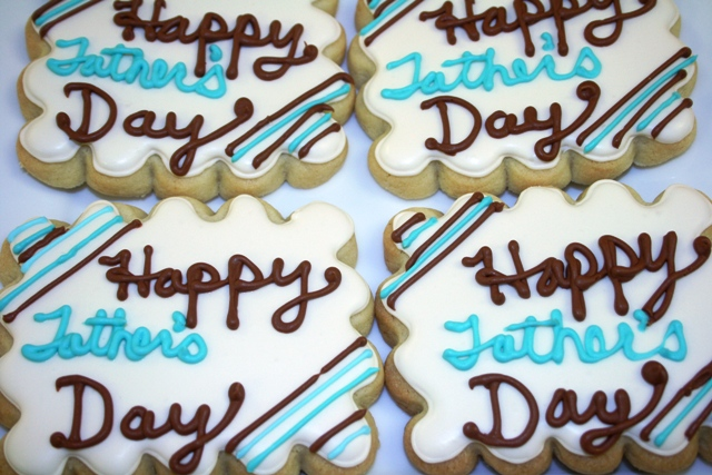 Fathers Day Sugar Cookie