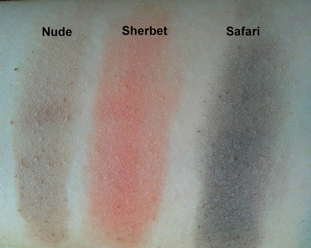 Smashbox Shades of Fame Eye Palette Nude Sherbet Safari