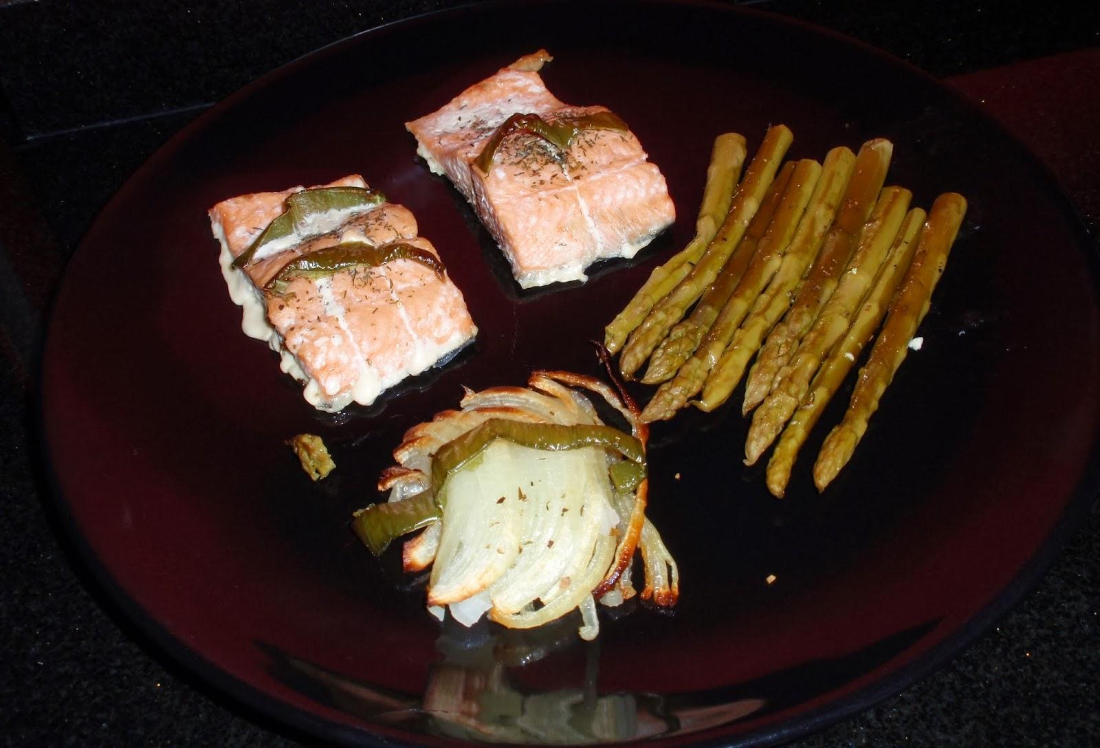 rubibeauty receta salmon al horno con esparragos fit healthy