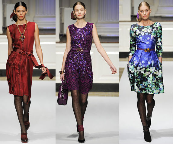 Oscar De La Rentas Fabulous Pre Fall12 Collection La Fashion