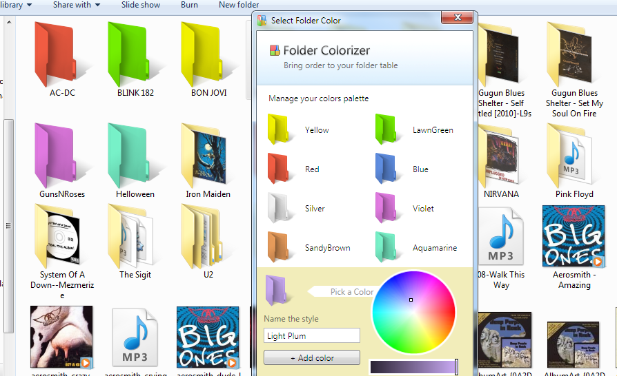 Folder Colorizer 1.3.3 Full Version