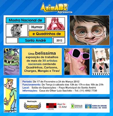 Mostra Nacional de Humor e Quadrinhos de Santo André, SP (2012)