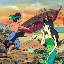 "Contoh Narrative Text - The Legend of  ""SANGKURIANG"""