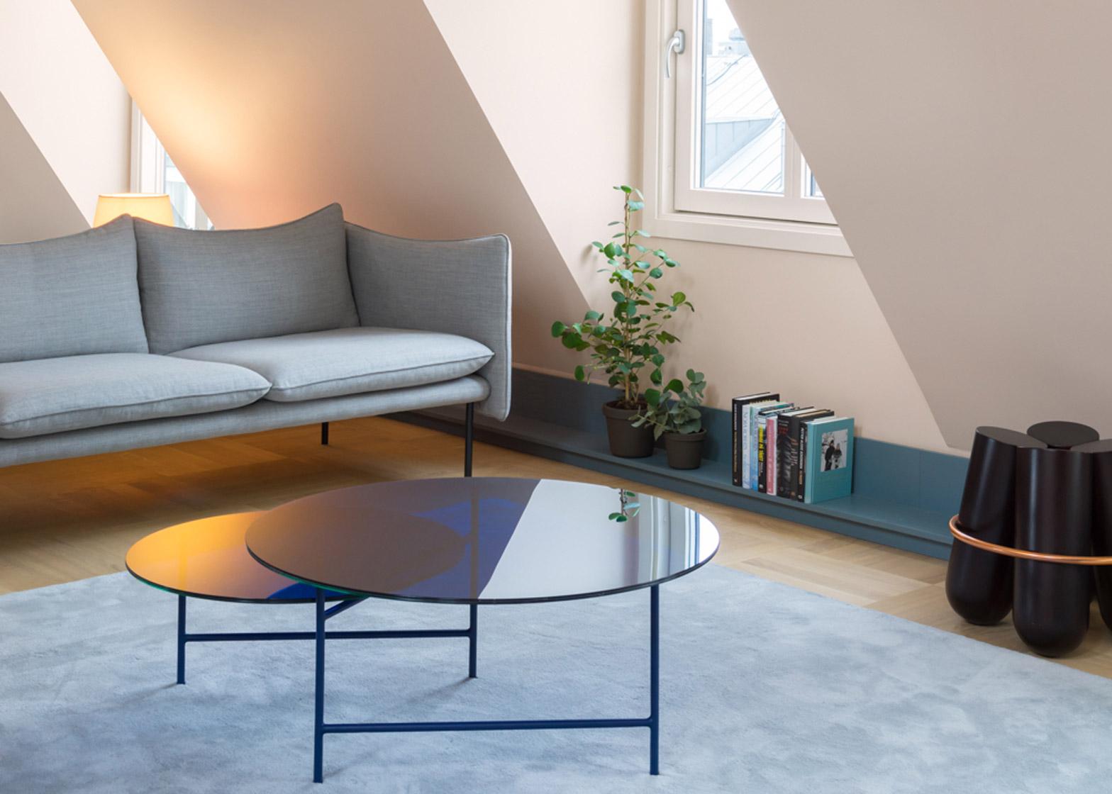 Casa a stoccolma con tonalit beige blu e grigio by note - Casa a colori ...
