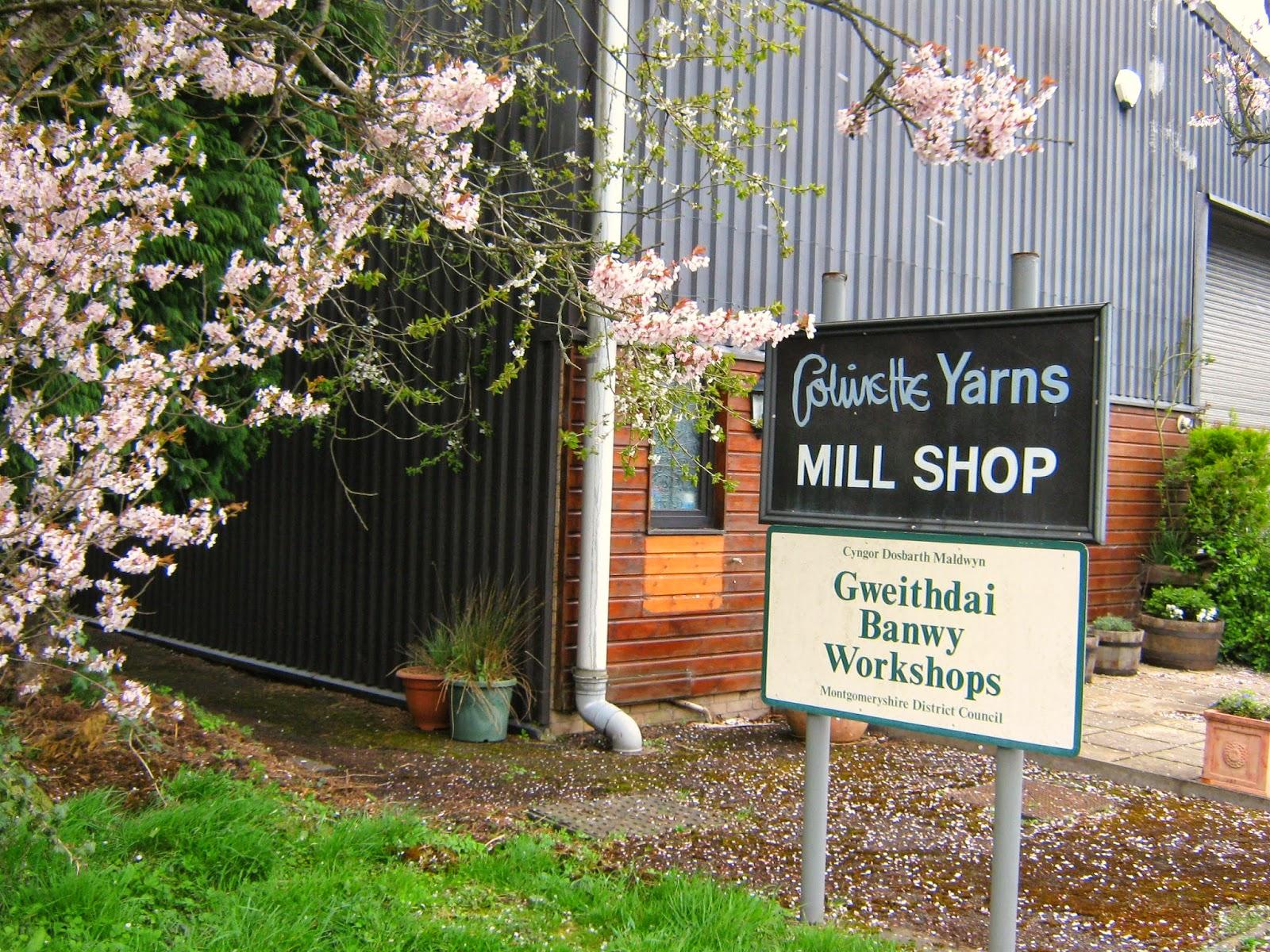 Colinette Yarns Mill Shop Tour