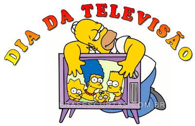 frases e opiniões sobre o Dia da Televisão