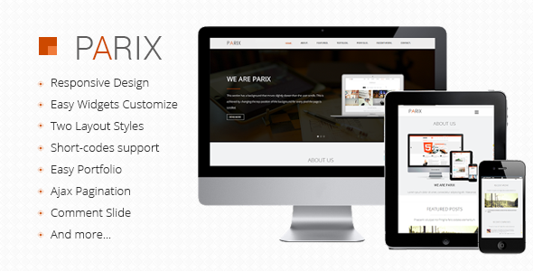 Download Parix One Page Blogger Template Free - How To | How To Do ...