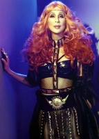 Cher, who has been forced to postpone ten of her concerts.