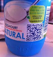 QR Yogur Danone