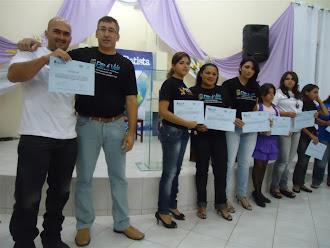 CONCLUSÃO DO CURSO DE INFORMÁTICA BÁSICA / 2011
