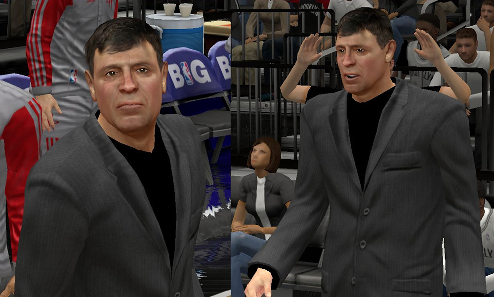 NBA 2K Kevin McHale Face Patch