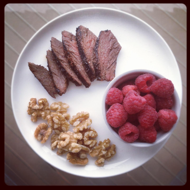 Meat & nuts déjeuner Viande & Noix