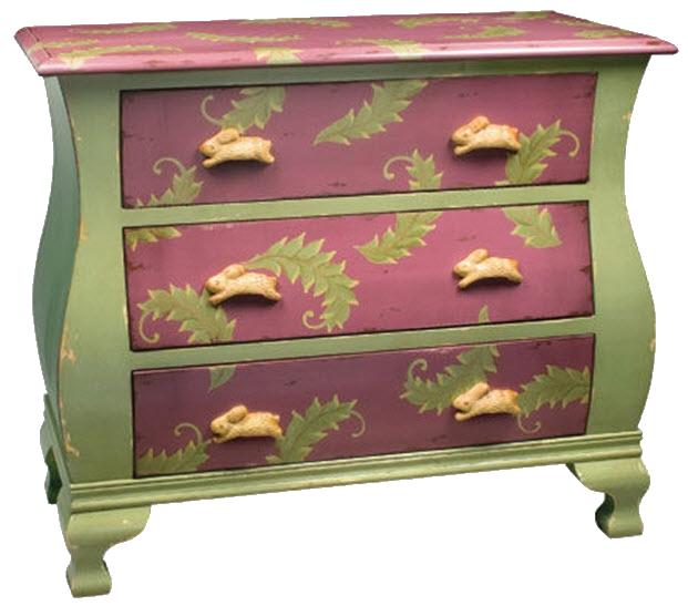 Elegant Finds for Your Home: Hand-Painted Furniture History
