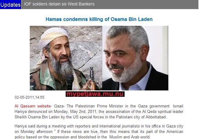 The killing of Osama in Laden. Killing of Osama bin-Laden