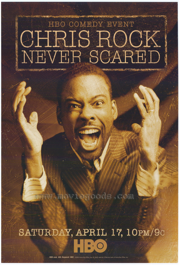 Chris Rock - Never Scared is the fourth time he has appeared in an HBO ...
