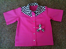 Girls Western Shirt