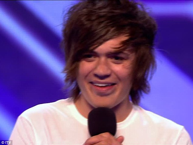Frankie Cocozza Hairstyle