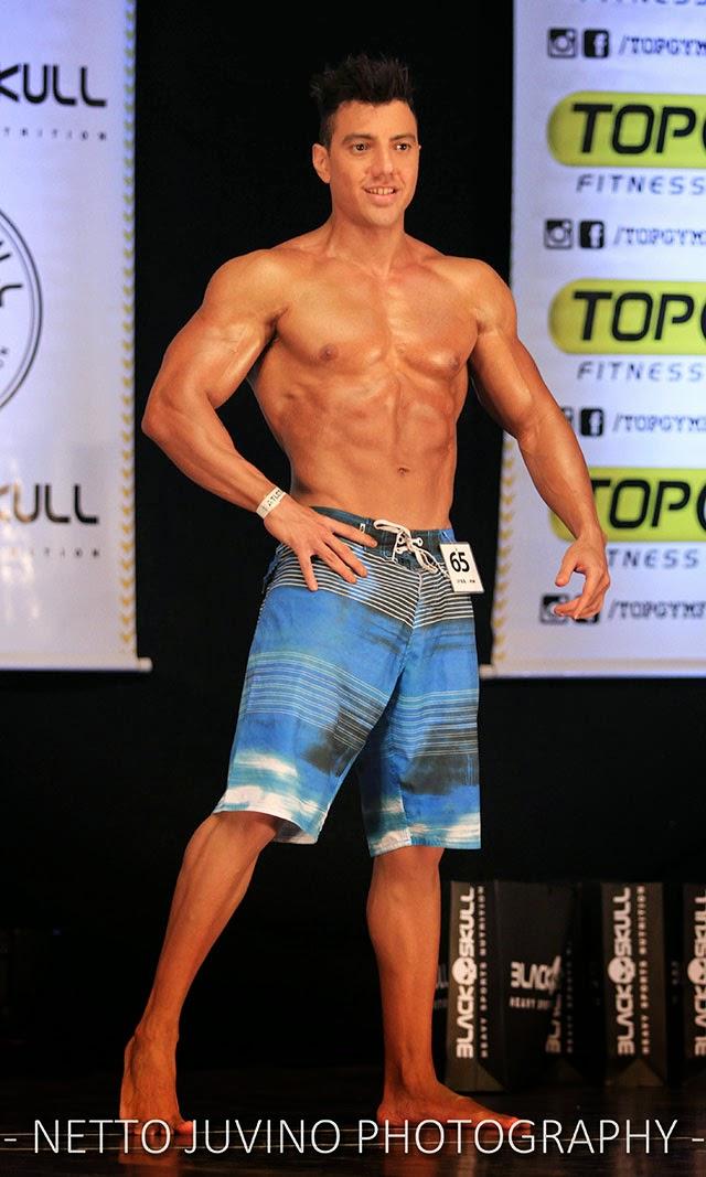 Luener Corrêa se apresenta no Campeonato Estreantes 2015 da IFBB-RN. Foto: Netto Juvino