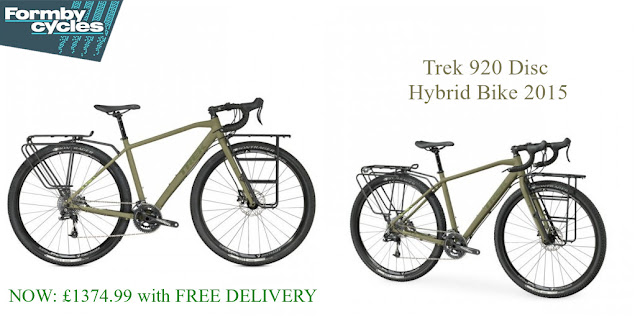 2015 Hybrid Bike: Trek 920 Disc
