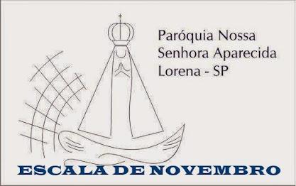ESCALA DE NOVEMBRO DE 2014