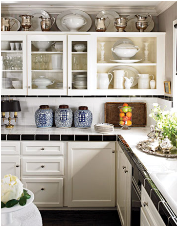 What should you do with the awkward space above kitchen What to do with space above cabinets