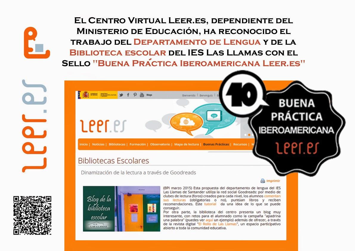 http://leer.es/buenas-practicas/bibliotecas-escolares/detalle/-/asset_publisher/z4kpOmCpLSUQ/content/dinamizacion-de-la-lectura-a-traves-de-goodreads