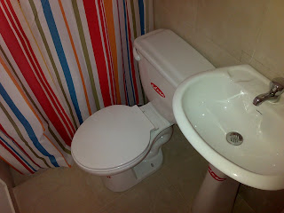 image of shower room and toilet on the ground floor