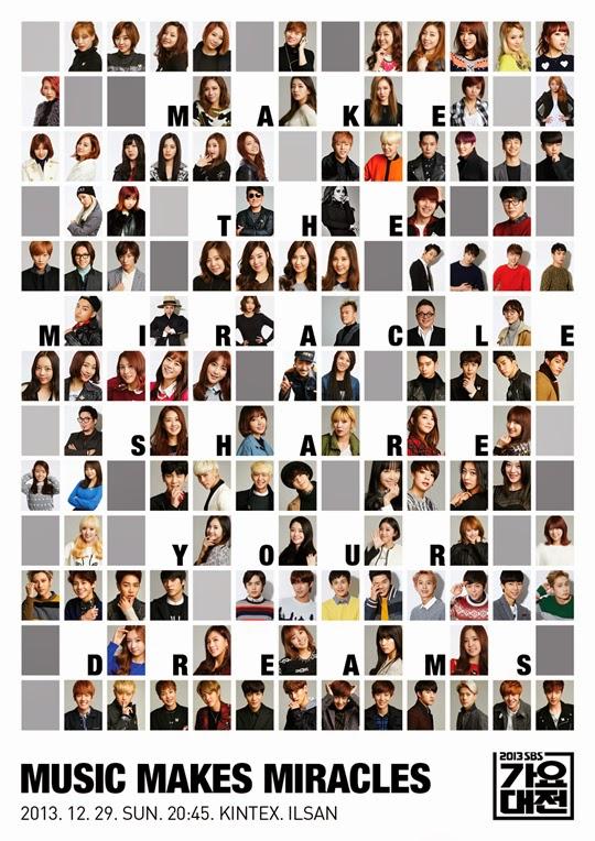 125 Penyanyi Kpop Bergabung untuk Proyek Persahabatan Spesial '2013 SBS Gayo Awards'