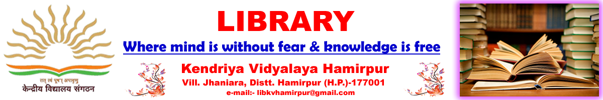 Library@KV Hamirpur (HP)