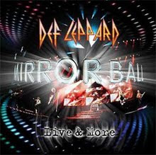Fechas del lanzamiento del Mirrorball – Live & More de Def Leppard