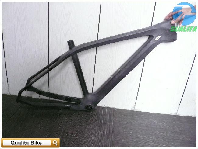 Qualita Co., Ltd.: [ Qualita Bike ] Carbon Fiber MTB 650b Frame - Raw