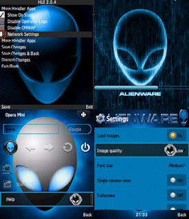 Descargar Opera Mini 6.5 Handler Splash Alien ware