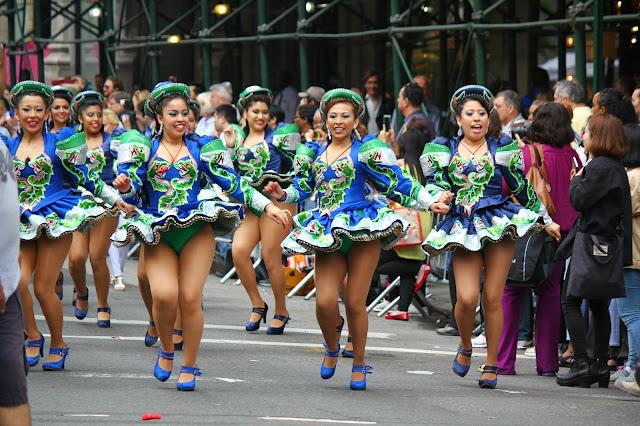 Caporales San Simon bloque Nueva York