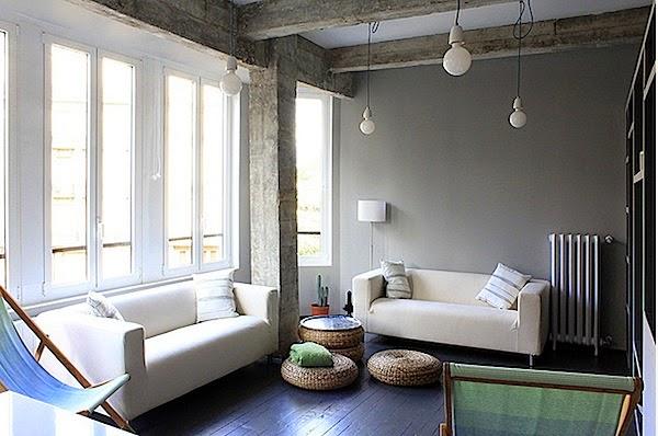 Ruang tamu rumah minimalis 1