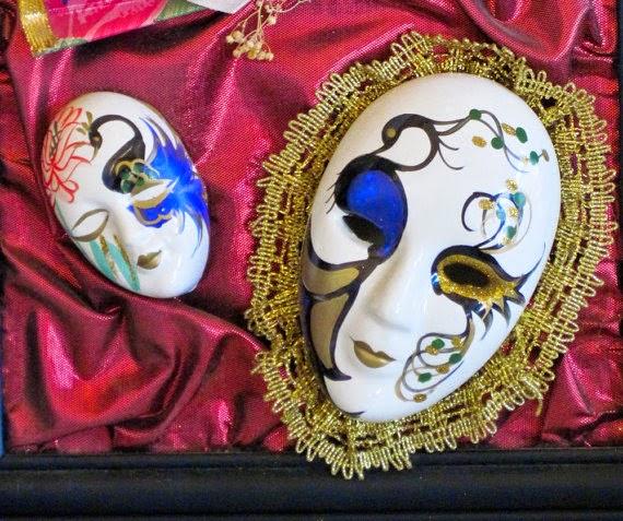 Multinotas decoraci n mascaras de arlequin - Mascaras venecianas decoracion ...