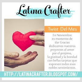 """Twist Mes de Noviebre 2017 """"Mes de Acción de Gracias"""""""