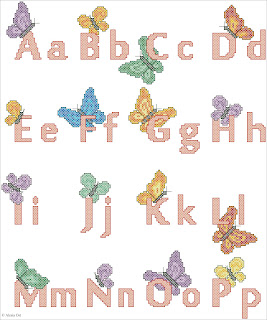 Picture Key words: alphabet, ABC, Butterfly, cross-stitch, back stitch, cross-stitch scheme, free pattern, x-stitch, stitch, free, вышивка крестиком, бесплатная схема, хрестик, punto croce, schemi punto croce gratis, DMC, blocks, symbols