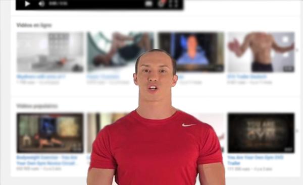 أفضل قناة على اليوتيوب لبناء جسم قوي دون مغادرة المنزل !